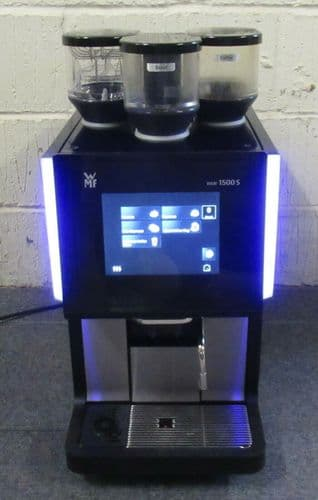 WMF 1500 S Bean To Cup Commercial Coffee Machine 2 Grinders + Chocolate Mill
